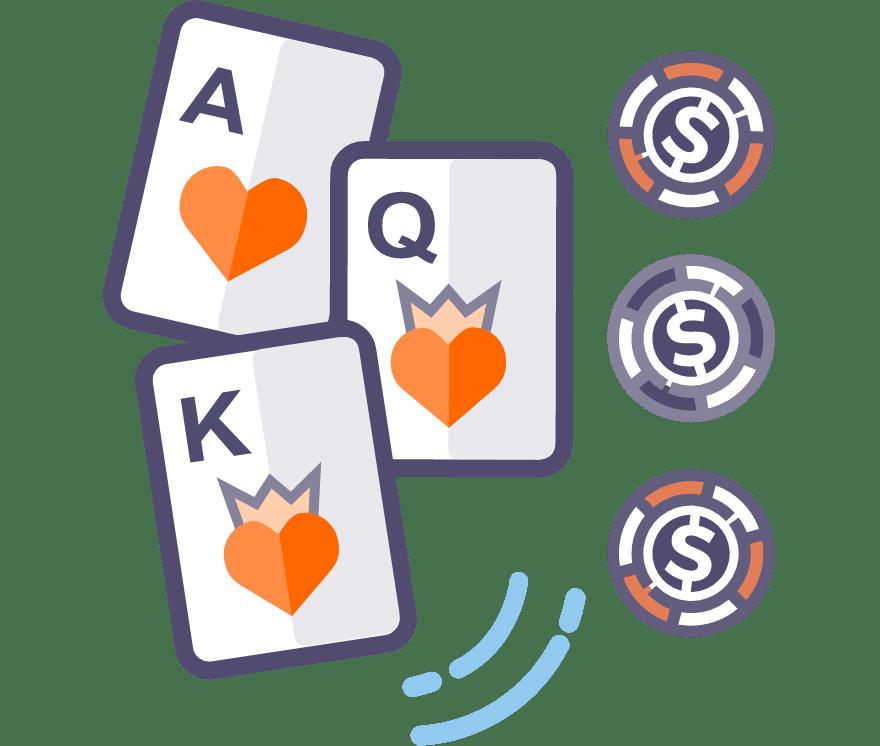 Los 62 mejores sitios de Casino de Póker de tres cartas en línea en Argentina