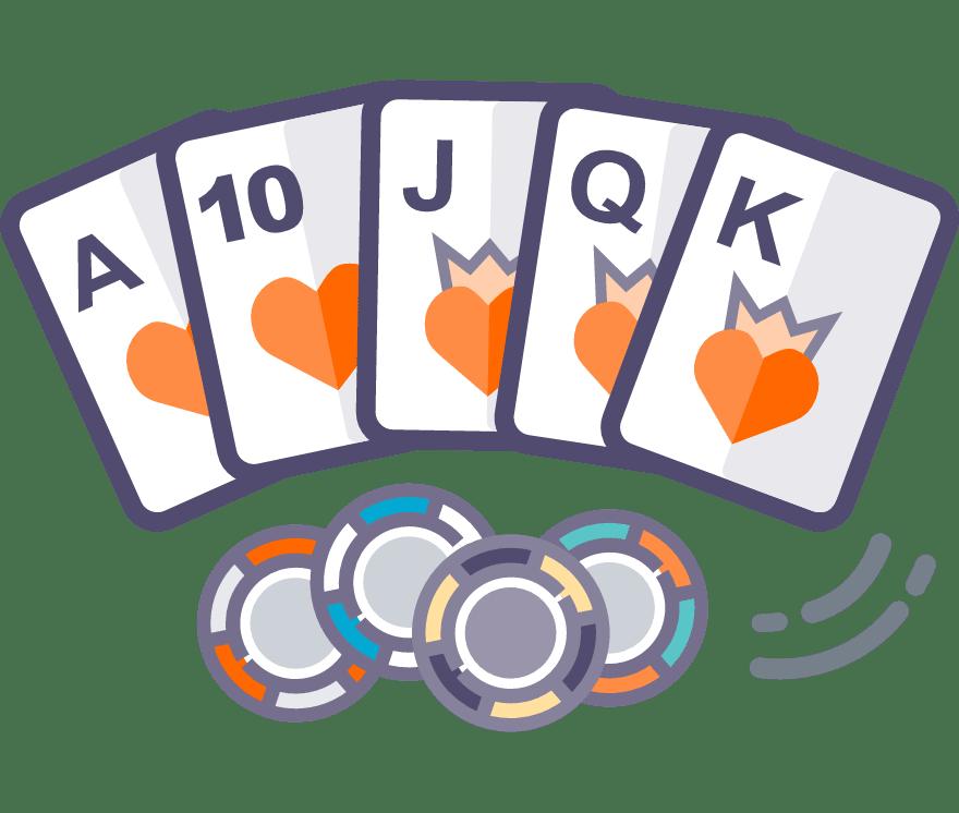 Los 52 mejores sitios de Casino de Texas Holdem en línea en Argentina